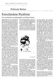 FAZ 30062015 Helene Stöcker
